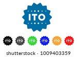 ito token icon. vector...   Shutterstock .eps vector #1009403359