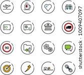 line vector icon set  ... | Shutterstock .eps vector #1009407097