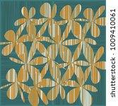 grunge daisy flower abstract...   Shutterstock .eps vector #1009410061