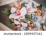 romantic wedding flowers.... | Shutterstock . vector #1009427161