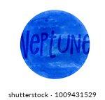watercolor illustration   solar ... | Shutterstock . vector #1009431529