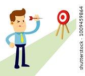 vector stock of a businessman... | Shutterstock .eps vector #1009459864