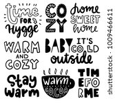 vector poster with phrases.... | Shutterstock .eps vector #1009466611