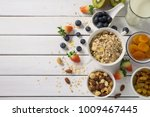 healthy food concept  breakfast ... | Shutterstock . vector #1009467445