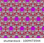 geometric ornament. abstract  ... | Shutterstock . vector #1009473544