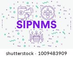 conceptual business...   Shutterstock . vector #1009483909