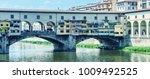 ponte vecchio  firenze   italy. ... | Shutterstock . vector #1009492525