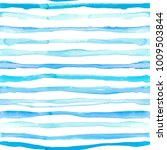 watercolor stripes seamless... | Shutterstock . vector #1009503844