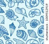 seamless pattern tile wallpaper ... | Shutterstock .eps vector #1009512919
