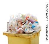 waste heap  waste garbage trash ... | Shutterstock . vector #1009520707
