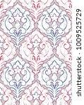 modern carpet   rug pattern   ... | Shutterstock . vector #1009525729