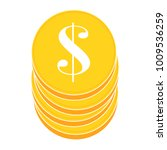 abstract money object | Shutterstock .eps vector #1009536259