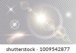 set of shining light effects.... | Shutterstock .eps vector #1009542877