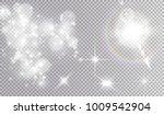 white light effects... | Shutterstock .eps vector #1009542904