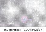 various white light effects... | Shutterstock .eps vector #1009542937