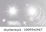 set of various light effects.... | Shutterstock .eps vector #1009542967