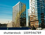 apartment building construction ... | Shutterstock . vector #1009546789
