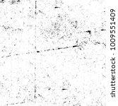 grunge black and white pattern. ... | Shutterstock . vector #1009551409