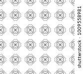 seamless geometric ornamental... | Shutterstock .eps vector #1009558981
