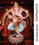 Small photo of Hindu God Ganesha.God of success.