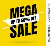 sale banner template design ... | Shutterstock .eps vector #1009562944