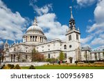 St. Paul Cathedral With Garden...