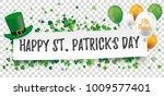 white paper banner for st... | Shutterstock .eps vector #1009577401