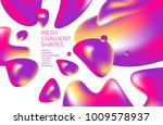 abstract multicolored... | Shutterstock .eps vector #1009578937