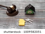 house  house keys with a key... | Shutterstock . vector #1009582051