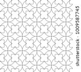 seamless ornamental geometric... | Shutterstock .eps vector #1009587745