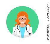 medical doctor profile icon.... | Shutterstock .eps vector #1009588144