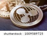 ripple coin and other crypto... | Shutterstock . vector #1009589725