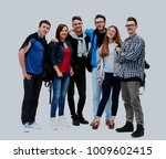group of smiling friends... | Shutterstock . vector #1009602415