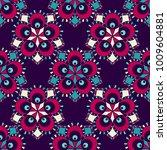 vector abstract seamless... | Shutterstock .eps vector #1009604881