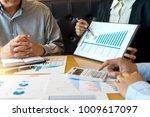 group of teamwork businessman...   Shutterstock . vector #1009617097
