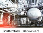 equipment  cables and piping as ... | Shutterstock . vector #1009622371
