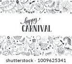 horisontal carnival vector... | Shutterstock .eps vector #1009625341