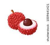 summer tropical fruits for... | Shutterstock .eps vector #1009641421