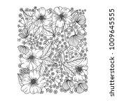 floral background vector... | Shutterstock .eps vector #1009645555