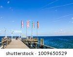 scharbeutz  beach  germany    Shutterstock . vector #1009650529