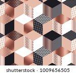 Luxury Geometric Shapes Mosaic...