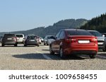 parking in mountains   Shutterstock . vector #1009658455