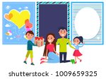 happy friendship day banner... | Shutterstock . vector #1009659325