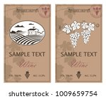 collection of vintage labels... | Shutterstock .eps vector #1009659754