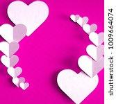 3d render of valentine's day... | Shutterstock . vector #1009664074