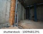 apartment repair wall repair... | Shutterstock . vector #1009681291