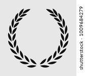 laurel wreath  sports emblem ... | Shutterstock .eps vector #1009684279