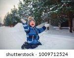 Happy Child Having Fun Playing...