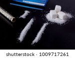 sugar addict. addiction of... | Shutterstock . vector #1009717261