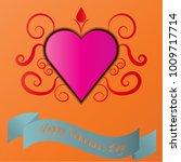 happy valentine's day   Shutterstock .eps vector #1009717714